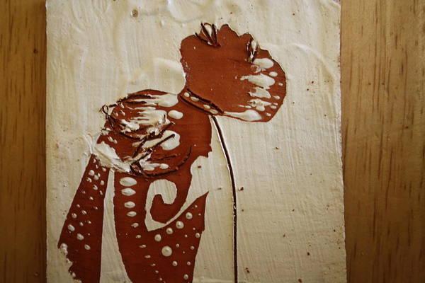 Ceramic Art - Nude 8 - Tile by Gloria Ssali