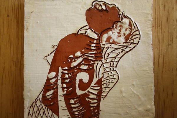 Ceramic Art - Nude 9 - Tile by Gloria Ssali