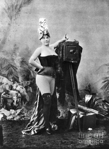 Painting - Nude And Camera, C1880 by Granger