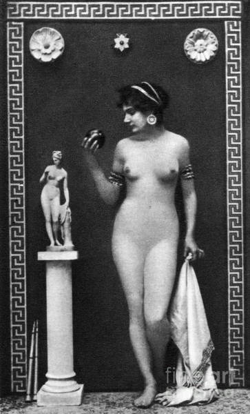Painting - Nude As Aphrodite, C1900 by Granger