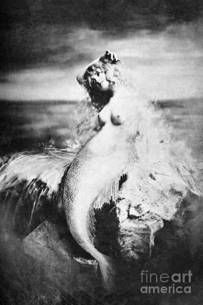 Painting - Nude As Mermaid, 1898 by Granger