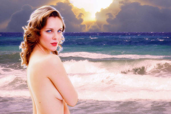 Photograph - Nude Beach by Harry Spitz