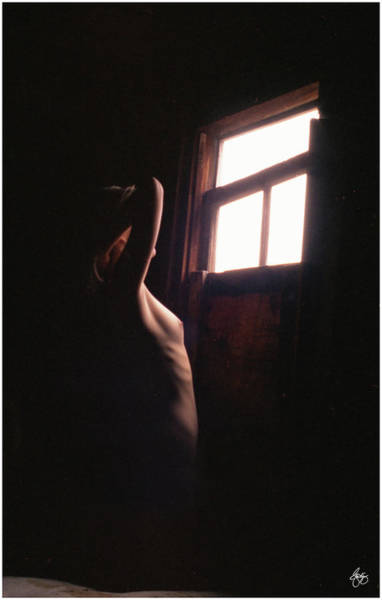 Photograph - Nude At A Window by Wayne King