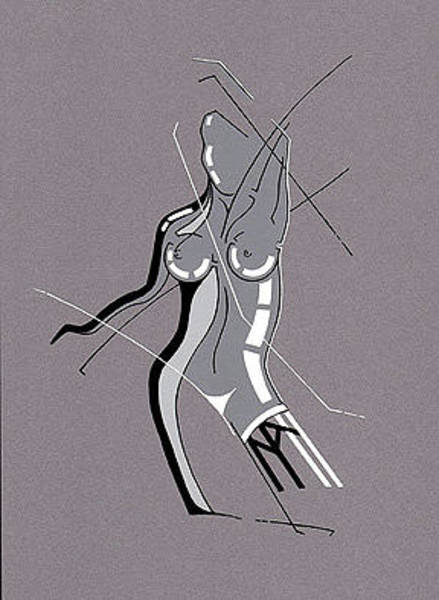 Painting - Nude by David Hargreaves
