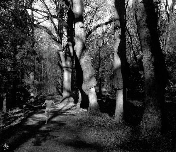 Photograph - Nude In Gnarled Trees by Wayne King