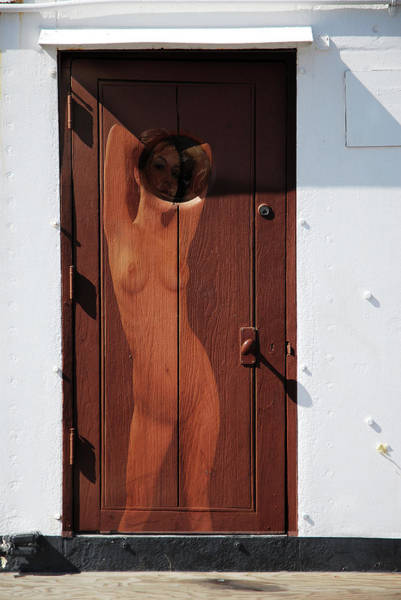Photograph - Nude Porthole by Harry Spitz