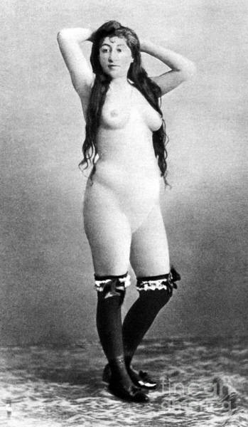 Painting - Nude Posing, C1888 by Granger