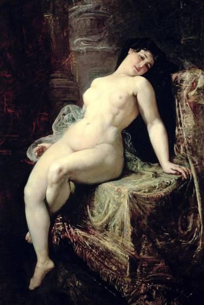 Nudity Painting - Nude by Ramon Marti Alsina