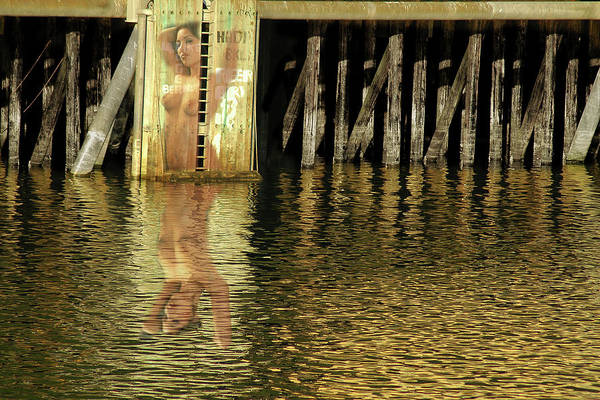 Photograph - Nude Reflection by Harry Spitz