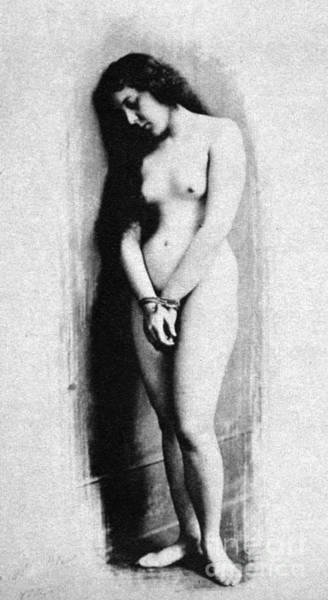 Photograph - Nude Slave, 1901 by Granger