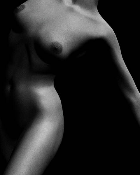Nude Study Of Jamie No 4 Art Print