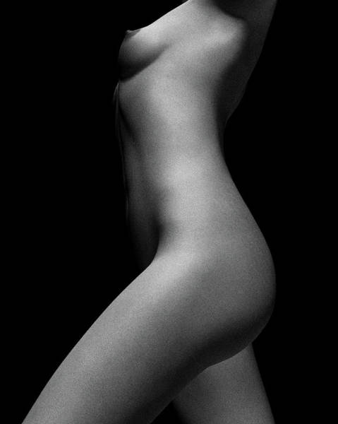 Nude Study Of Jamie No 5 Art Print