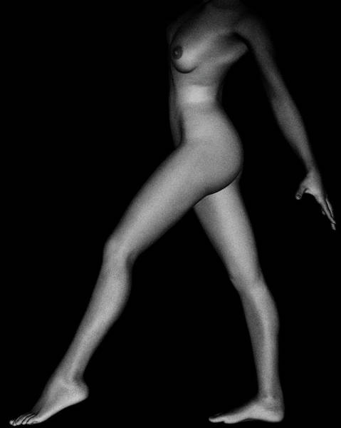 Photograph - Nude Study Of Silvie No 1 by Jan Keteleer