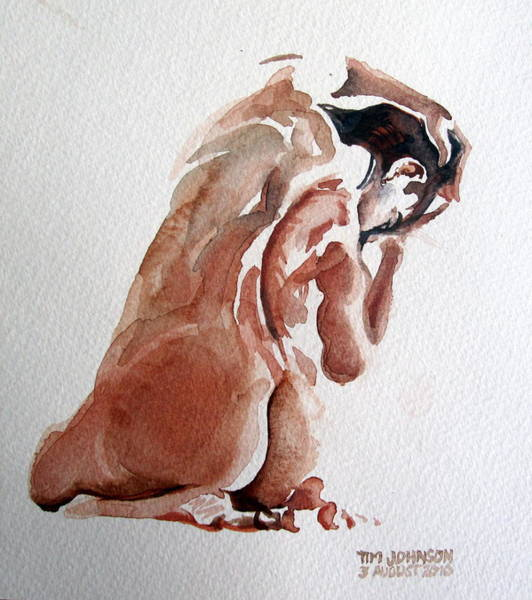 Painting - Nude by Tim Johnson