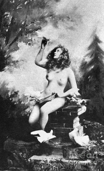 Painting - Nude With Birds, 1897 by Granger