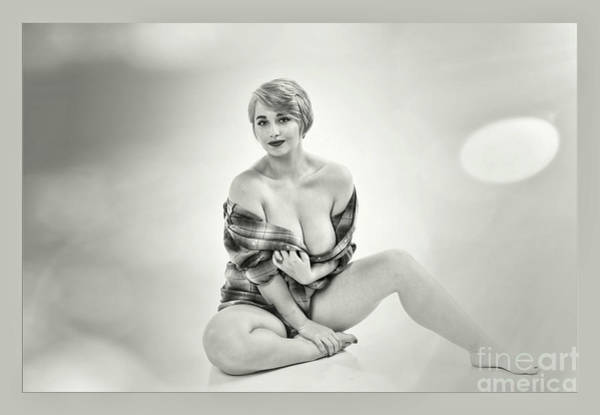 Wall Art - Photograph - Nude Woman Model 098.1722 by Kendree Miller
