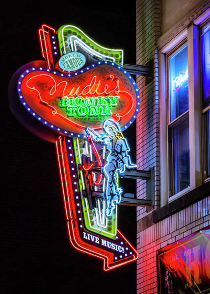 Wall Art - Photograph - Nudies Honky Tonk - Nashville by Stephen Stookey