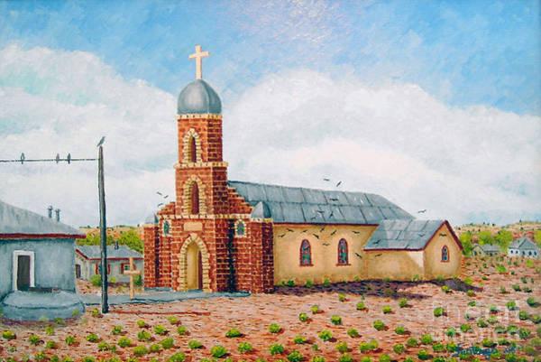 Painting - Nuestra Senora De Refugio by Santiago Chavez