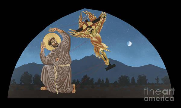 Painting - Nuestro Padre San Francisco De Asis 089 by William Hart McNichols