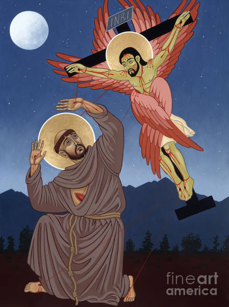 Painting - Nuestro Padre San Francisco De Asis 104 by William Hart McNichols