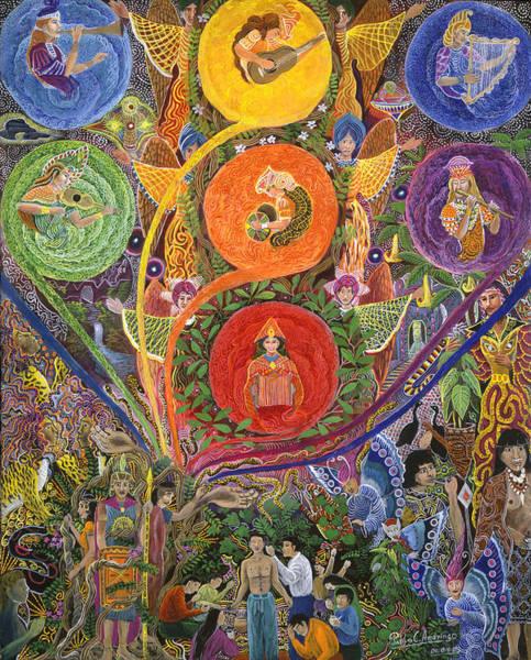 Painting - Nukno Maschashka  by Pablo Amaringo