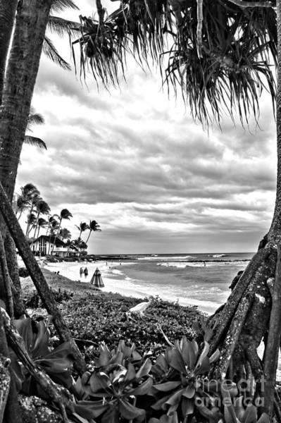 Hawaiiana Photograph - Nukumoi Point Poipu by DJ Florek