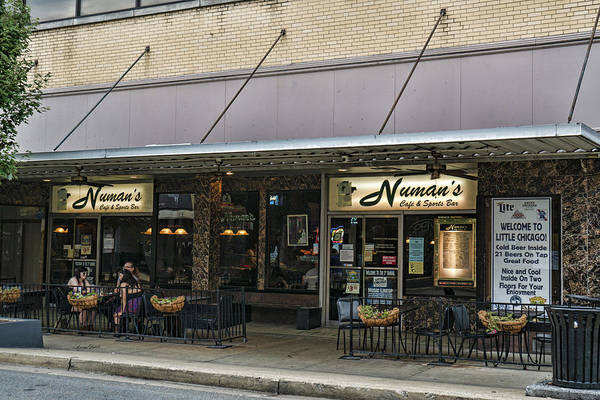 Photograph - Numans Cafe And Sports Bar by Sharon Popek