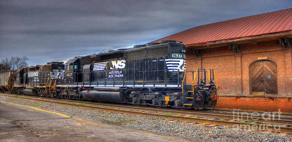 Norfolk Southern Wall Art - Photograph - Number 1637 Dash One by Reid Callaway