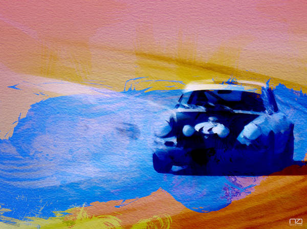 Car Digital Art - Number 49 Porshce by Naxart Studio