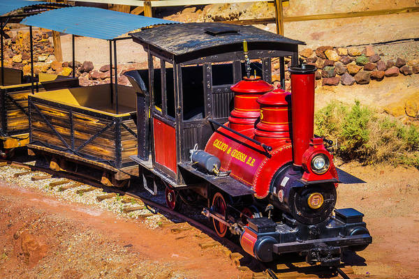 Wall Art - Photograph - Number 5 Calico Train by Garry Gay