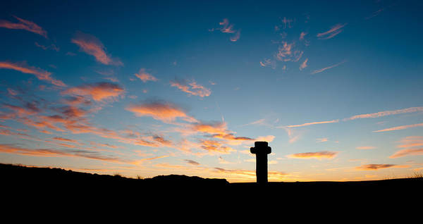 Photograph - Nuns Cross Silhouette I by Helen Northcott