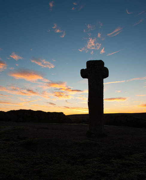 Photograph - Nuns Cross Silhouette II by Helen Northcott