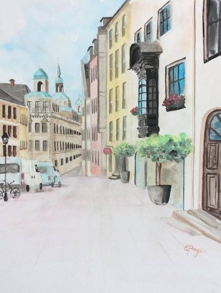 Painting - Nuremberg by Emily Page