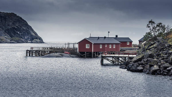 Photograph - Nusfjord Rorbu by James Billings