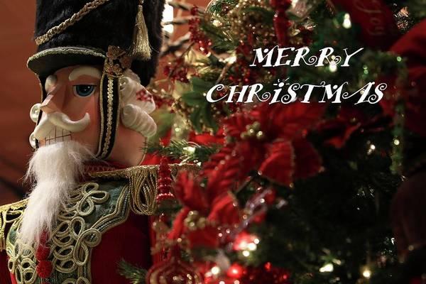 Photograph - Nutcracker Christmas  by Carol Montoya