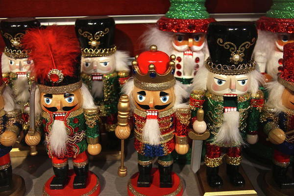 Wall Art - Photograph - Nutcracker Christmas by Denise Mazzocco