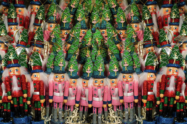 Photograph - Nutcrackers Attack by Bonnie Follett
