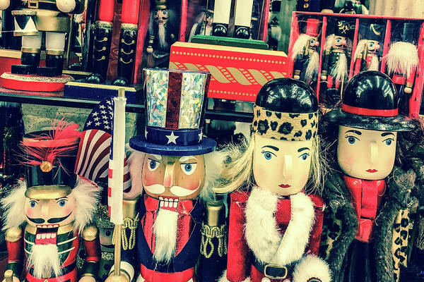 Photograph - Nutcrackers by SR Green