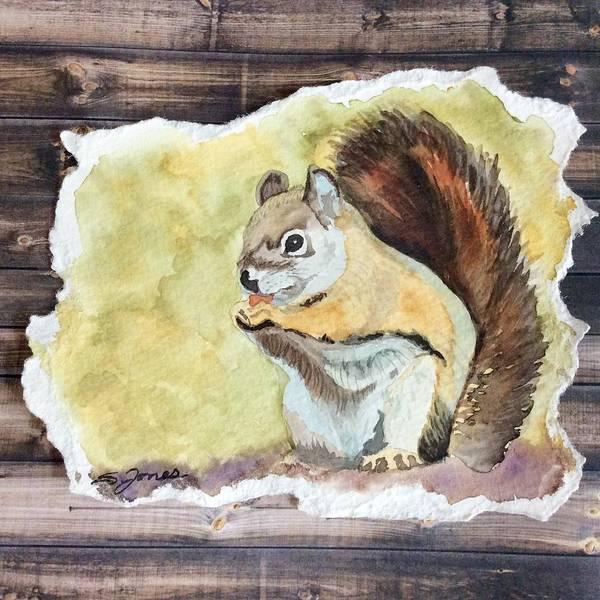 Painting - Nutty Buddy by Sonja Jones
