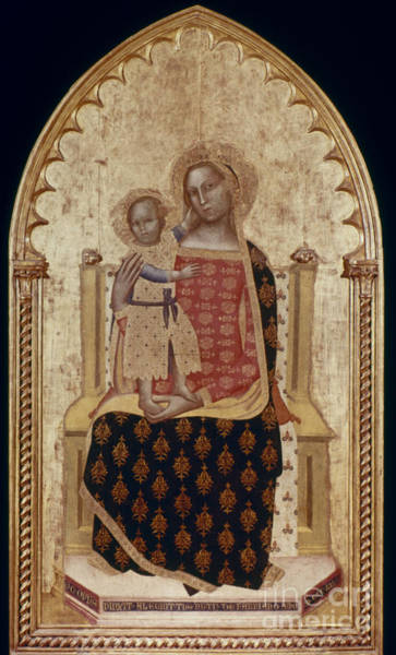 Wall Art - Photograph - Nuzi: Madonna And Child by Granger