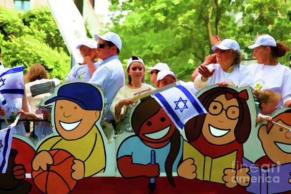 Shofar Wall Art - Photograph - Ny Central Park Jewish Parade  by Chuck Kuhn