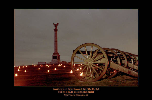 Luminaries Photograph - Ny Monument And Cannon 92 by Judi Quelland