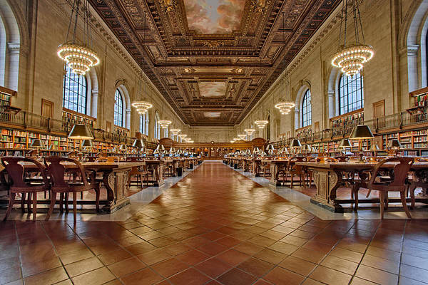 Photograph - Ny Public Library Main Branch by Susan Candelario