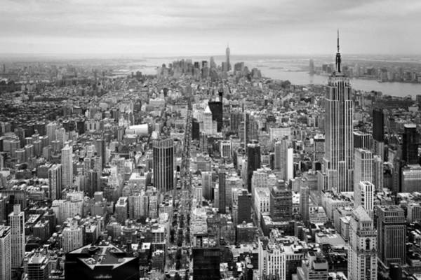 Wall Art - Photograph - Nyc Aerial by Nina Papiorek