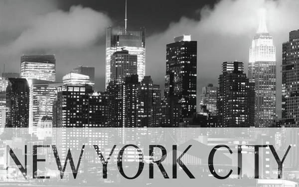 Photograph - Nyc B W Poster 020218 by Rospotte Photography