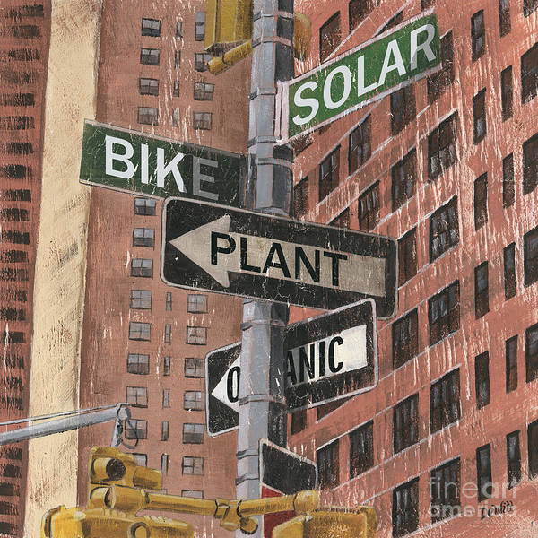 Urban Scene Painting - Nyc Broadway 2 by Debbie DeWitt