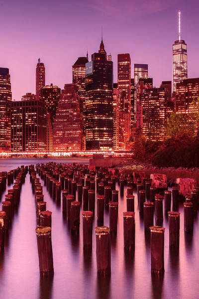 Piling Photograph - Nyc Skyline by Laura Fasulo