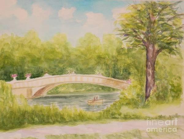 Wall Art - Painting - Nyc Central Park 1 by Olga Malamud-Pavlovich