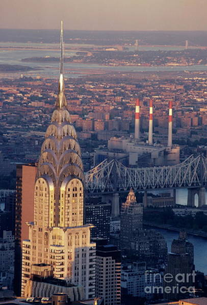 Wall Art - Photograph - Nyc Cityscape Showing The Chrysler Building by Sami Sarkis