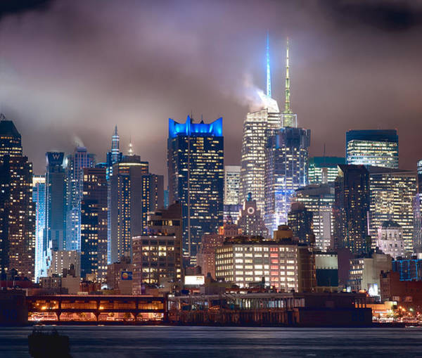Photograph - Nyc Fog by Rospotte Photography
